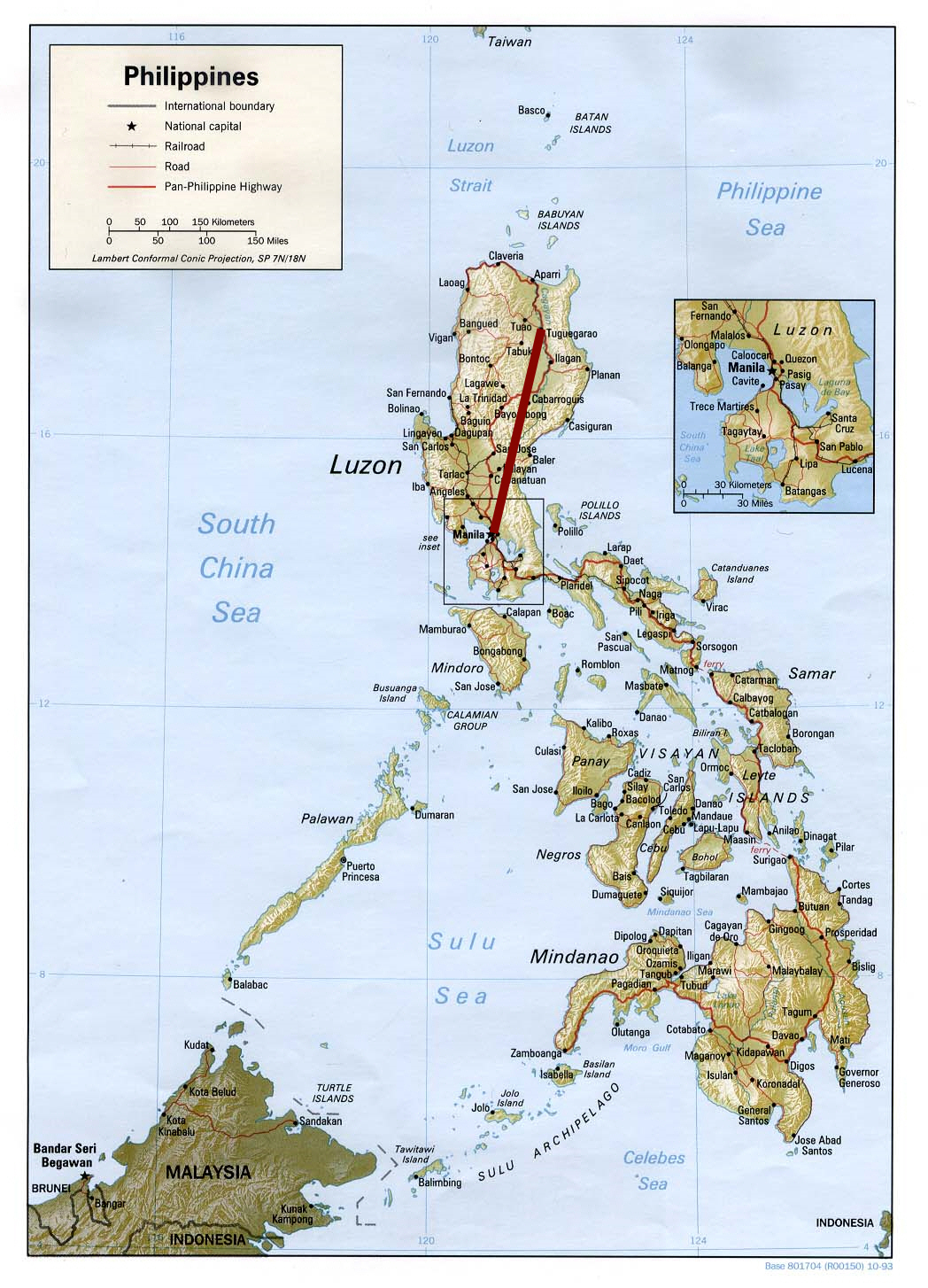 Protesters At US Embassy In Philippines Hit By Police Van - Road map us embassy abu dhabi